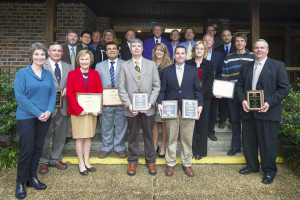2015 LSU AgCenter award winners