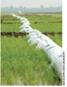 The Web-based Pipe Planner allows users to easily figure out the number and spacing of holes or gates for collapsible poly irrigation tubing.