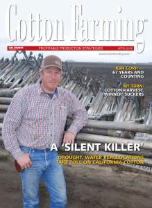 April 2016 Cotton Farming