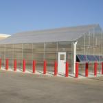 SEMO rice research greenhouse