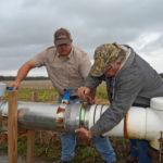 attaching a flow meter