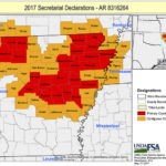 Arkansas disaster counties