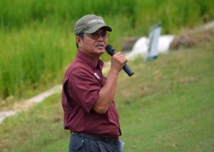 MSU rice breeder Ed Redoña