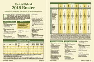 2018 rice variety hybrid roster