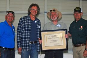 California Rice Research Board honors retired farm adviser 'Cass' Mutters