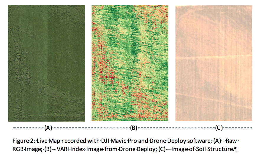 using drone deploy to map fields