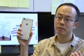 Purdue researcher develops handheld plant health sensor