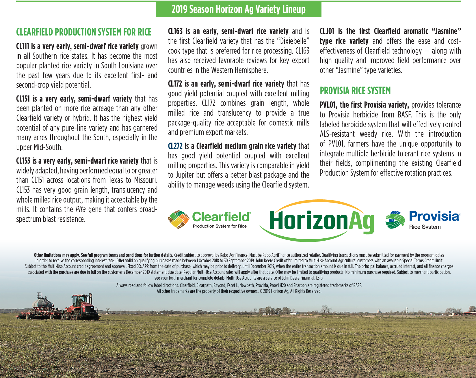 January 2019 Horizon Ag advertorial