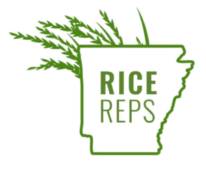 Arkansas rice reps logo