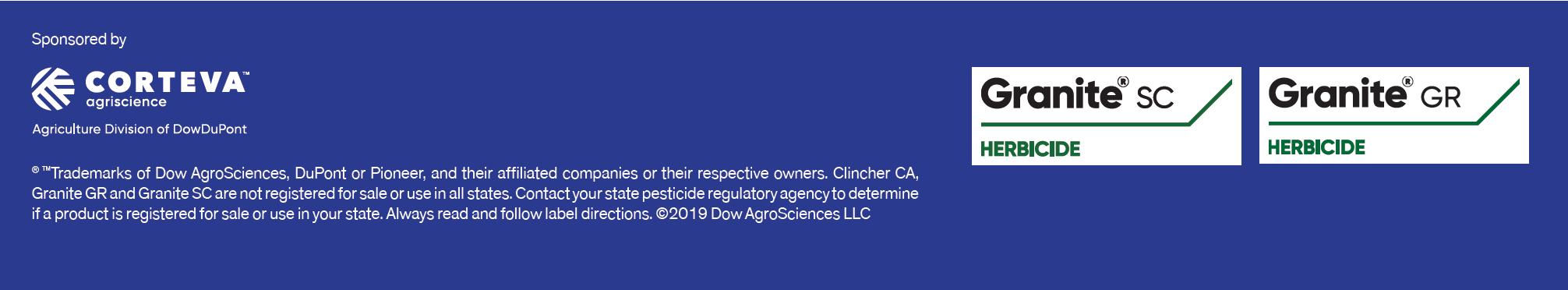 Corteva Rice Advice disclaimer california