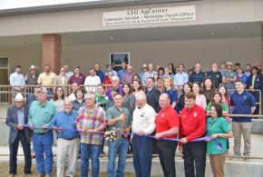 LSU AgCenter rebuilds flood-damaged Vermilion Parish office