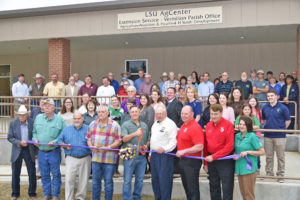 new LSU AgCenter parish office in Abbeville