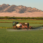 California tracked sprayer