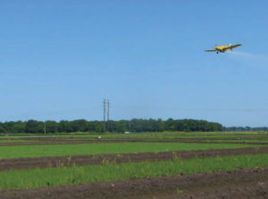 aerial fertilizer applicatioin
