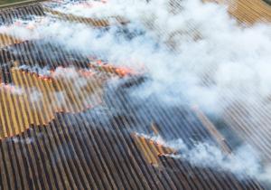 open-field burning