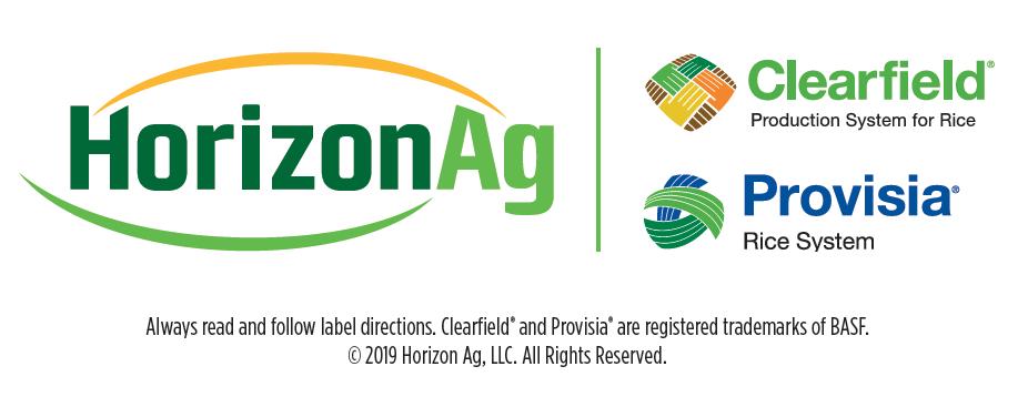 horizon ag clearfield logos