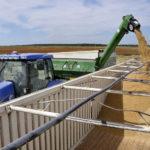 Arkansas rice harvest