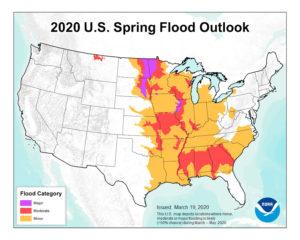 flood outlook map