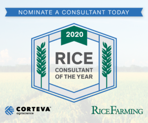 Rice Consultant of the Year