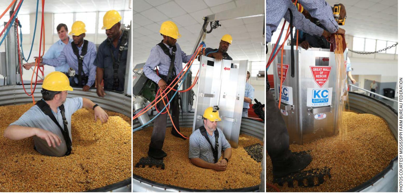 grain bin rescue