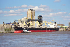 ship loading at Baton Rouge