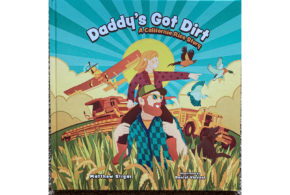 Rice production stars in new children's book, 'Daddy's Got Dirt'
