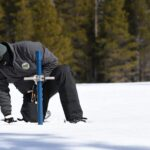 california snowpack sampling