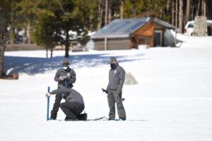 DWR snow survey