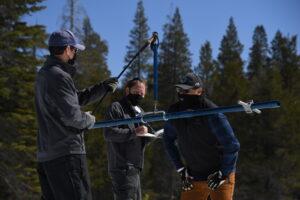 DWR snowpack survey