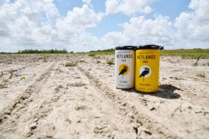 wetlands sake in cans